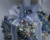 Wedding Decor- OOAK Custom Wedding Birthdays Anniversaries- Beaded Box