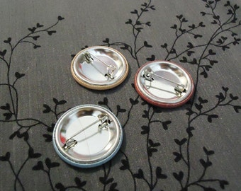 Three button mix - Pick your set