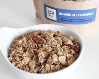 Elemental Formula -- pecan and orange granola