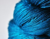 Lost in the blue ocean - Silk Yarn Lace weight