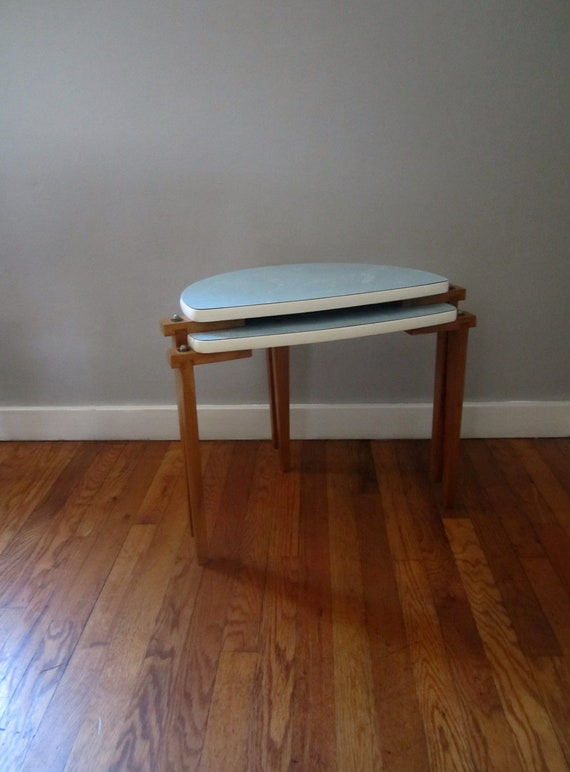 Mid Century Stacking Tables
