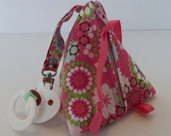 Original Pacifier Pyramid/Coin Purse/Jewelry Bag/Small Item/Gift PouchTriangle Pod Pouch/Knitting Notions