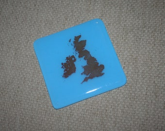 Continents and Countries Bright Colour Coasters