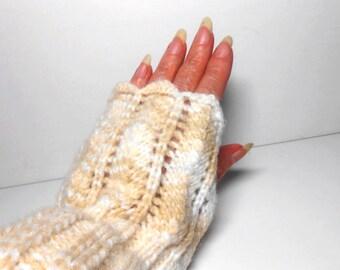 Fingerless Mitts, Wrist Warmer, Fingerless Gloves