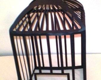 DIY Bird cage centerpiece