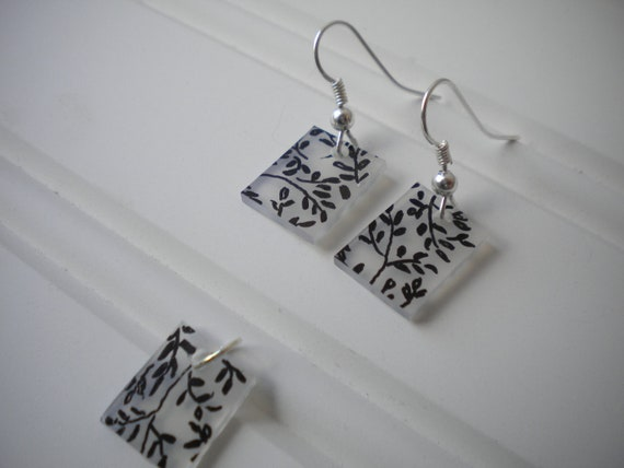 Ivy Earring and Pendant Set