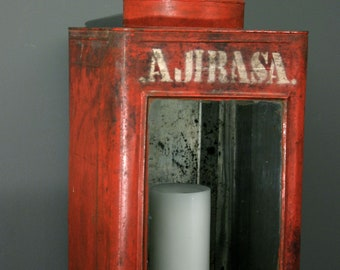 Vintage Storage Can  from Indonesian with Beautiful patina