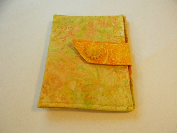 Yellow Batik Paperwhite/Kindle Touch/ Cover