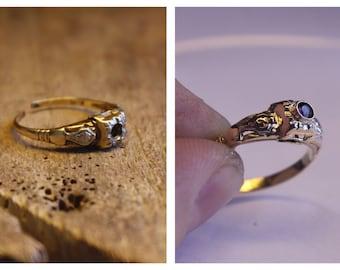 Complex re-pair, repair, restoration, re-finish, refinish, re-polish, repolish, antique jewelry, vintage