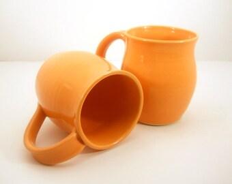 BOGO Half OFF -Coffee Mug Set of 2 - Hand Thrown - Gift Set - Made to Order