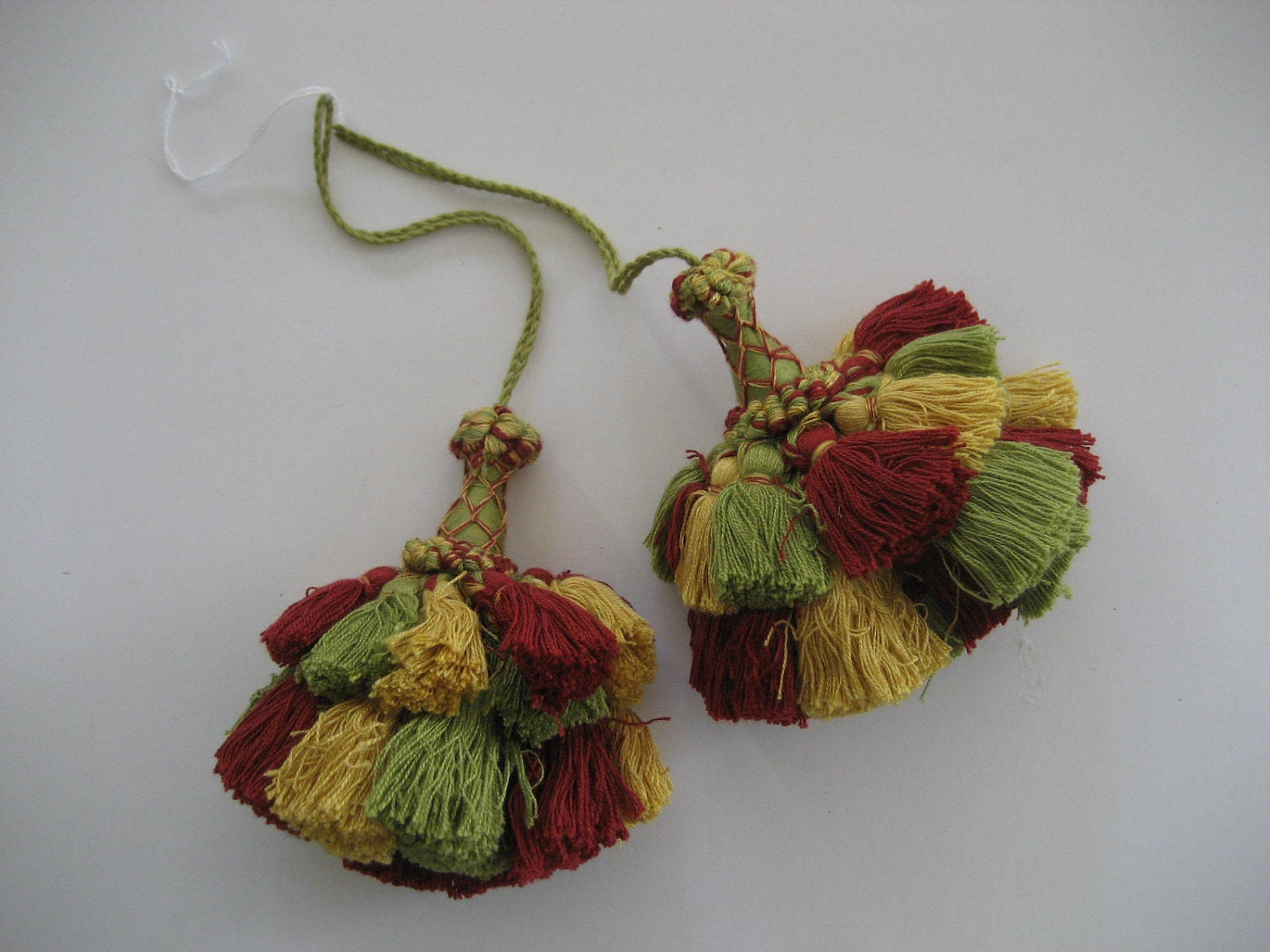 On Hold Pair Of Large Decorative Tassels