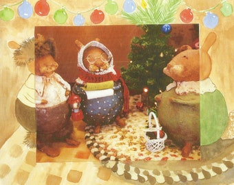 Christmas Children's Book, Original Story, watercolor illustrations, picture book