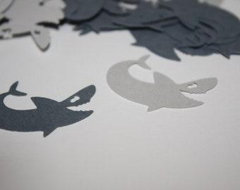 Shark Die Cut Confetti Table Decor 200 pieces