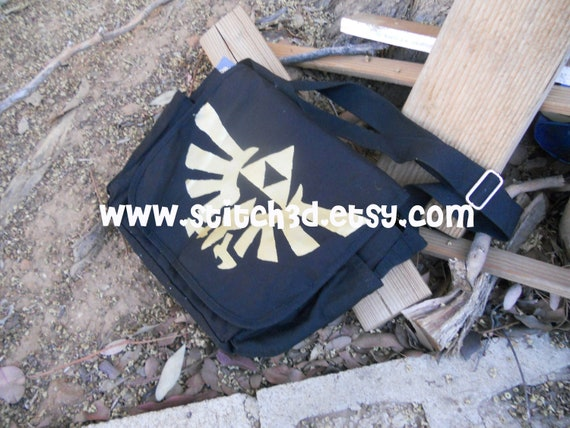 Preorder Legend of Zelda triforce eagle messenger tote bag