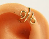 Upper Cartilage Gold Filled Simple Earring Cuff Gift Under 10