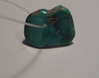 Varacite Nugget bead .. natural ..........    18 x 14 x 4 mm ........   1734