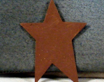"1 Dozen 3"" Rusty Painted Stars"