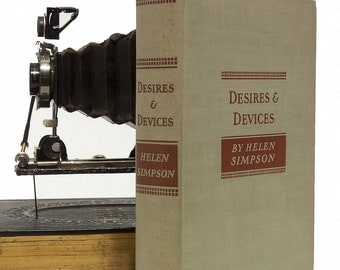 """Simpson, Helen """"Desires and Devices"""",1930, First Edition Hardcover Fiction"""