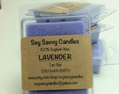 Lavender scented candle tarts