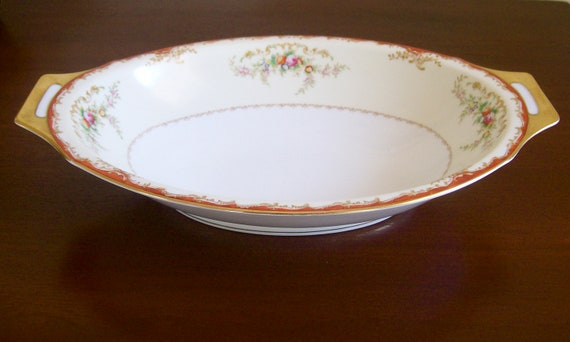 Items similar to Vintage Meito China Made In Japan Platter on Etsy
