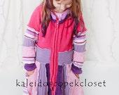 Jenepan Upcycled Sweater Coat Girls 7 CUSTOM ORDER  for JENEPAN Only
