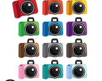 Cute Camera Digital Clip Art - SLR