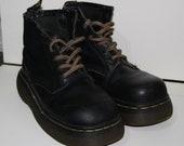 Women's  Vintage Dr. Martens Leather Boots Grunge Punk Size 8