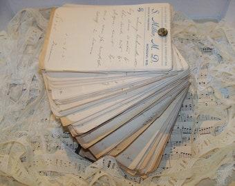 Antique Hand Written Prescriptions-1907-Set of 20