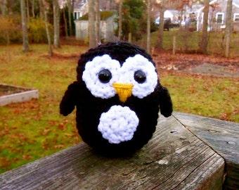Woolie Baby Penguin - Hand Crocheted Plush