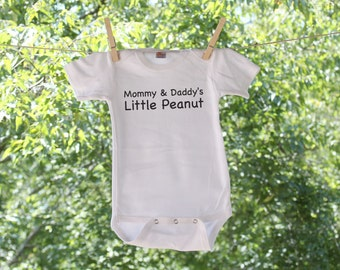 Mommy & Daddy's Little Peanut Infant Bodysuit