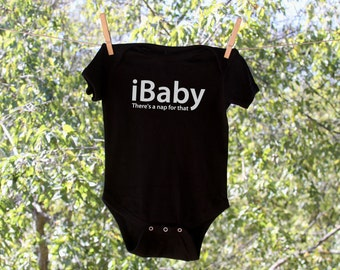 ibaby, there's a nap for that Infant Bodysuit