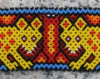 ON SALE Jaguar Beaded Handmade Bracelet