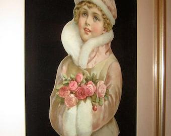 Vintage Framed Valentine