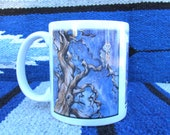 Ceramic mug - Fine Art, from original owl painting, 11 oz.
