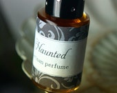 Haunted  - A Perfume for the Daring Soul - Smoke Wisp Ghost Light Aura Spirit Mystical