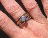 Opal Stack Ring