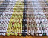 Multi-Colored Upcycled Rug-Woven Plastic Bags
