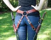 Custom Dual Sword Belt