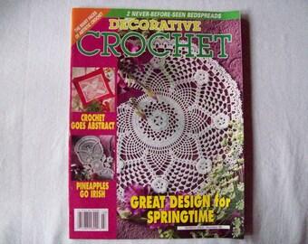 20 patterns Decorative Crochet Magazine, March 2004 issue 98 Crochet Pattern Booklet, Doily Patterns, Thread Crochet patterns