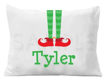 Elf  Personalized Pillow Case
