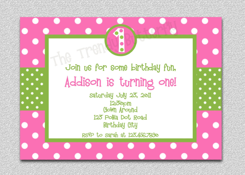 Ladybug Invitations 1St Birthday for beautiful invitation layout