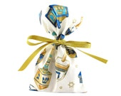 ON SALE -- Small Hanukkah Cloth Gift Bag for Gift Card or Jewelry