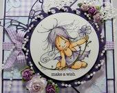 Birthday Card - Custom order RESERVED for Wendydh