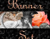 Etsy Shop Banner Set Steampunk 4 Banners, 1 Avatar plus 3 other Images 8 TOTAL (num 149)