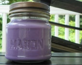 Blueberry Cobbler Soy Candle Mason Jar Maximum Scented Hand Poured