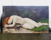 SALE - Biblis (original painting) 40x24 inches