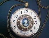 Time Cameo Necklace