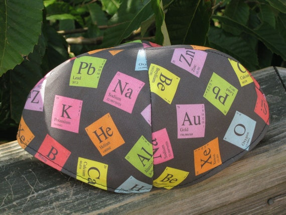 Periodic Table Chemistry Kippah or Yarmulke