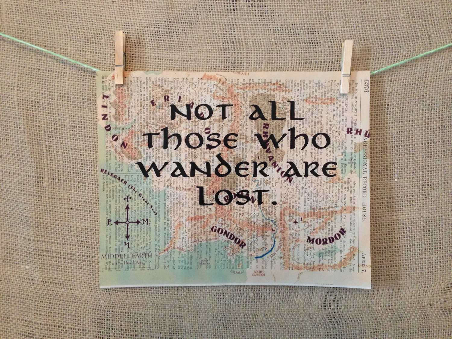 Not all those who wander are lost. Lord of the rings. The