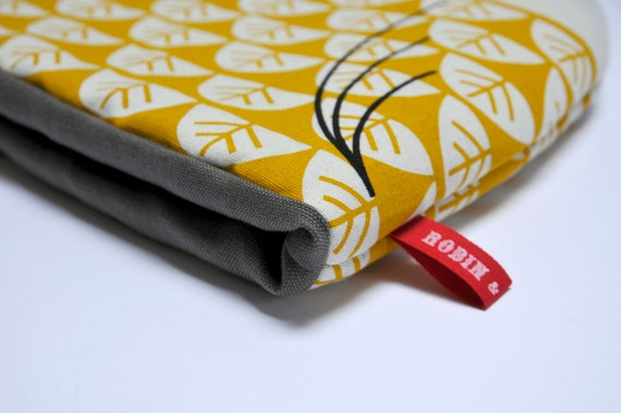 CUTOM ORDER for Angus Stewart - Hand Screen Printed Owl Tea Cosy in Yellow